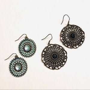 Bohemian decorative earings